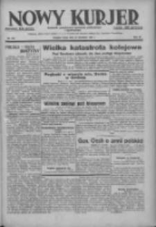 Nowy Kurjer: dziennik poświęcony sprawom politycznym i społecznym 1937.09.22 R.48 Nr218