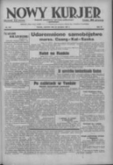 Nowy Kurjer: dziennik poświęcony sprawom politycznym i społecznym 1937.09.23 R.48 Nr219