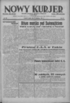 Nowy Kurjer: dziennik poświęcony sprawom politycznym i społecznym 1937.09.24 R.48 Nr220