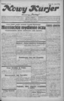 """Nowy Kurjer: dawniej """"Postęp"""" 1932.05.29 R.43 Nr121"""