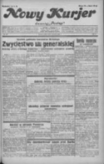 """Nowy Kurjer: dawniej """"Postęp"""" 1932.06.01 R.43 Nr123"""