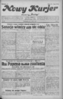 """Nowy Kurjer: dawniej """"Postęp"""" 1932.06.03 R.43 Nr125"""
