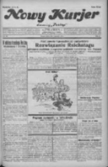 """Nowy Kurjer: dawniej """"Postęp"""" 1932.06.04 R.43 Nr126"""