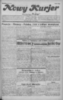 """Nowy Kurjer: dawniej """"Postęp"""" 1932.06.07 R.43 Nr128"""