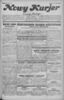 """Nowy Kurjer: dawniej """"Postęp"""" 1932.06.09 R.43 Nr130"""