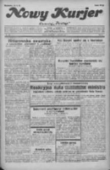 """Nowy Kurjer: dawniej """"Postęp"""" 1932.06.11 R.43 Nr132"""