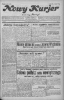 """Nowy Kurjer: dawniej """"Postęp"""" 1932.06.16 R.43 Nr136"""