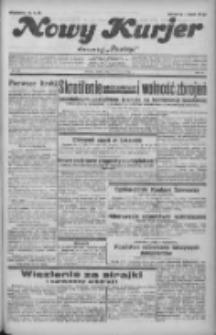 """Nowy Kurjer: dawniej """"Postęp"""" 1932.06.17 R.43 Nr137"""