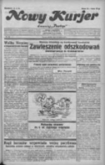 """Nowy Kurjer: dawniej """"Postęp"""" 1932.06.19 R.43 Nr139"""