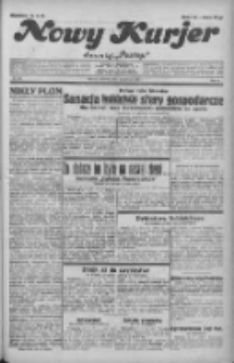 """Nowy Kurjer: dawniej """"Postęp"""" 1932.06.23 R.43 Nr142"""