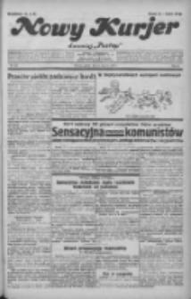 """Nowy Kurjer: dawniej """"Postęp"""" 1932.06.24 R.43 Nr143"""