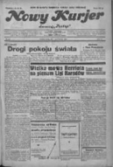 """Nowy Kurjer: dawniej """"Postęp"""" 1932.10.01 R.43 Nr226"""