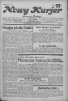"""Nowy Kurjer: dawniej """"Postęp"""" 1932.10.02 R.43 Nr227"""