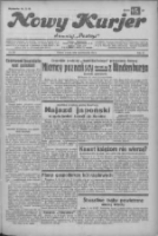 """Nowy Kurjer: dawniej """"Postęp"""" 1932.10.04 R.43 Nr228"""