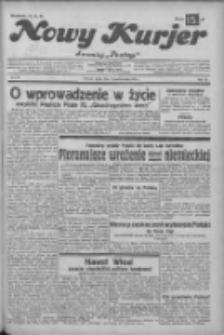 """Nowy Kurjer: dawniej """"Postęp"""" 1932.10.05 R.43 Nr229"""