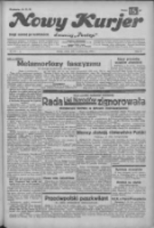 """Nowy Kurjer: dawniej """"Postęp"""" 1932.10.08 R.43 Nr232"""