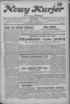"""Nowy Kurjer: dawniej """"Postęp"""" 1932.10.09 R.43 Nr233"""