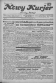 """Nowy Kurjer: dawniej """"Postęp"""" 1932.10.12 R.43 Nr235"""