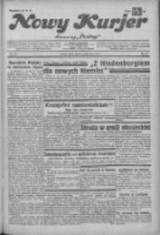"""Nowy Kurjer: dawniej """"Postęp"""" 1932.10.14 R.43 Nr237"""