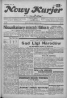 """Nowy Kurjer: dawniej """"Postęp"""" 1932.10.15 R.43 Nr238"""