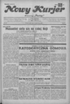 """Nowy Kurjer: dawniej """"Postęp"""" 1932.10.19 R.43 Nr241"""