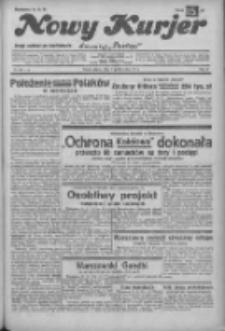 """Nowy Kurjer: dawniej """"Postęp"""" 1932.10.21 R.43 Nr243"""