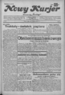 """Nowy Kurjer: dawniej """"Postęp"""" 1932.10.22 R.43 Nr244"""