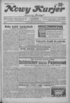 """Nowy Kurjer: dawniej """"Postęp"""" 1932.10.23 R.43 Nr245"""