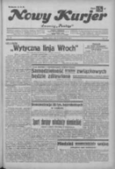 """Nowy Kurjer: dawniej """"Postęp"""" 1932.10.29 R.43 Nr250"""