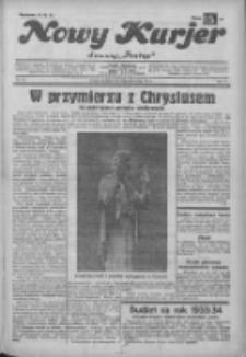 """Nowy Kurjer: dawniej """"Postęp"""" 1932.10.30 R.43 Nr251"""
