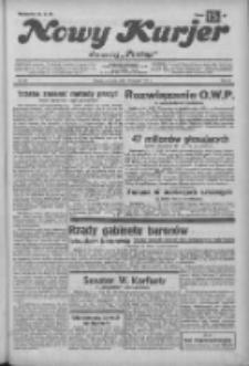 """Nowy Kurjer: dawniej """"Postęp"""" 1932.11.03 R.43 Nr253"""