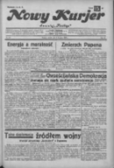"""Nowy Kurjer: dawniej """"Postęp"""" 1932.11.05 R.43 Nr255"""