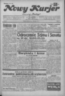 """Nowy Kurjer: dawniej """"Postęp"""" 1932.11.06 R.43 Nr256"""