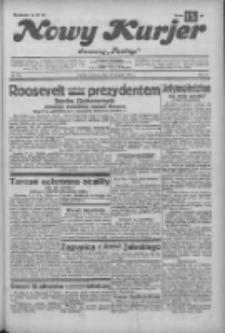 """Nowy Kurjer: dawniej """"Postęp"""" 1932.11.10 R.43 Nr259"""