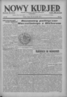 Nowy Kurjer: dziennik poświęcony sprawom politycznym i społecznym 1937.09.28 R.48 Nr223