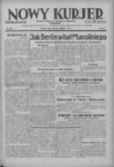 Nowy Kurjer: dziennik poświęcony sprawom politycznym i społecznym 1937.09.29 R.48 Nr224