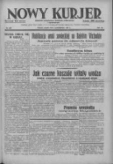 Nowy Kurjer: dziennik poświęcony sprawom politycznym i społecznym 1937.10.02 R.48 Nr227