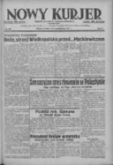 Nowy Kurjer: dziennik poświęcony sprawom politycznym i społecznym 1937.10.03 R.48 Nr228