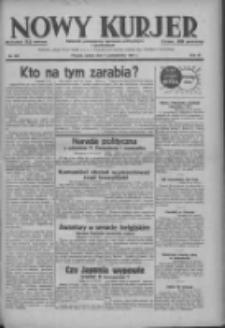 Nowy Kurjer: dziennik poświęcony sprawom politycznym i społecznym 1937.10.09 R.48 Nr233