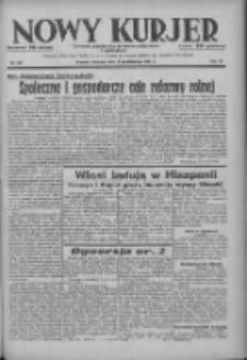Nowy Kurjer: dziennik poświęcony sprawom politycznym i społecznym 1937.10.10 R.48 Nr234