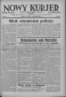 Nowy Kurjer: dziennik poświęcony sprawom politycznym i społecznym 1937.10.12 R.48 Nr235