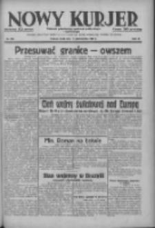 Nowy Kurjer: dziennik poświęcony sprawom politycznym i społecznym 1937.10.13 R.48 Nr236