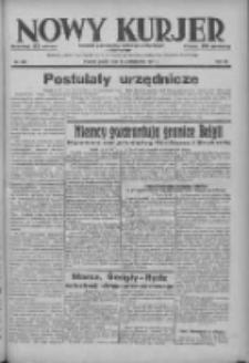 Nowy Kurjer: dziennik poświęcony sprawom politycznym i społecznym 1937.10.15 R.48 Nr238