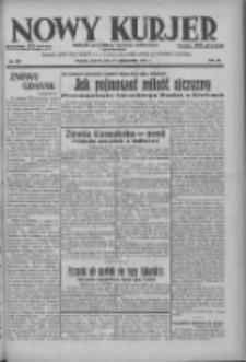 Nowy Kurjer: dziennik poświęcony sprawom politycznym i społecznym 1937.10.19 R.48 Nr241