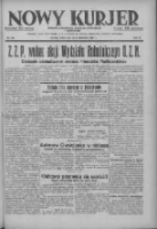 Nowy Kurjer: dziennik poświęcony sprawom politycznym i społecznym 1937.10.20 R.48 Nr242