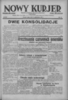 Nowy Kurjer: dziennik poświęcony sprawom politycznym i społecznym 1937.10.22 R.48 Nr244