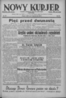 Nowy Kurjer: dziennik poświęcony sprawom politycznym i społecznym 1937.10.23 R.48 Nr245