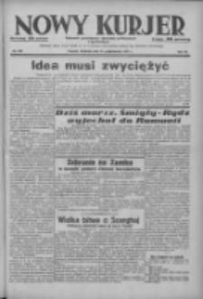Nowy Kurjer: dziennik poświęcony sprawom politycznym i społecznym 1937.10.24 R.48 Nr246