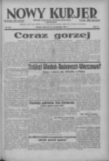 Nowy Kurjer: dziennik poświęcony sprawom politycznym i społecznym 1937.10.27 R.48 Nr248