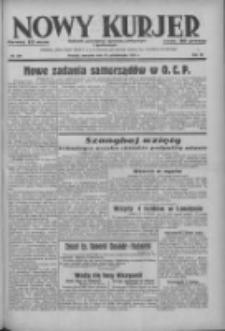 Nowy Kurjer: dziennik poświęcony sprawom politycznym i społecznym 1937.10.28 R.48 Nr249